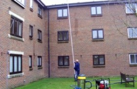Commercial Gutter Cleaning Services