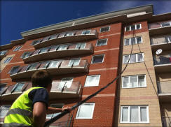 Apartment Block Window Cleaning